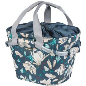 Basil Magnolia Carry All KF Front Wheel Basket, teal blue